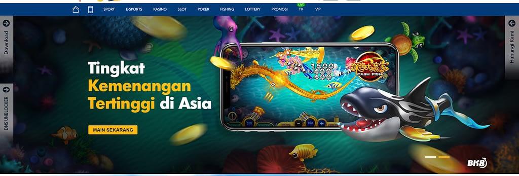 Games casino online di BK8 Indonesia, dijamin tingkat keamanan tertinggi di Asia